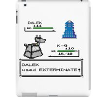 Doctor Who Pokemon Battle iPad Case/Skin