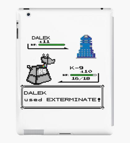 Doctor Who Pokemon Battle iPad Case/Skin