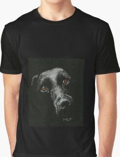Sad Brown Eyes Graphic T-Shirt