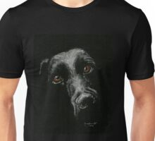 Sad Brown Eyes Unisex T-Shirt