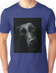 Sad Brown Eyes Unisex T-Shirt
