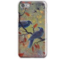 Autumn Ravens iPhone Case/Skin