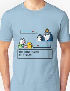 Adventure Time Pokemon Battle Unisex T-Shirt