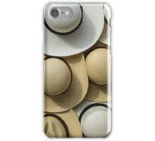 Assorted Straw Hats iPhone Case/Skin