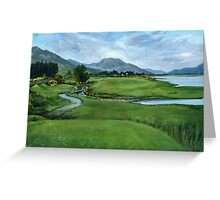 Lochcarron Golf Course Greeting Card