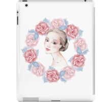 Romantic girl 2 iPad Case/Skin