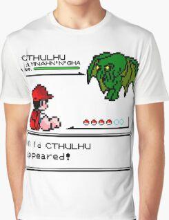 Cthulhu Pokemon Battle Graphic T-Shirt