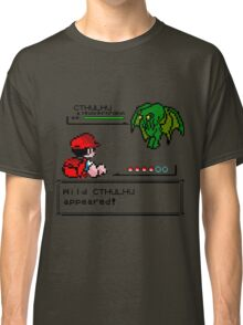 Cthulhu Pokemon Battle Classic T-Shirt