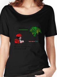 Cthulhu Pokemon Battle Women's Relaxed Fit T-Shirt