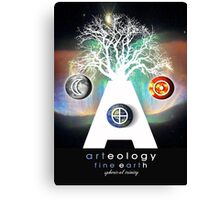 arteology universe 3 Canvas Print