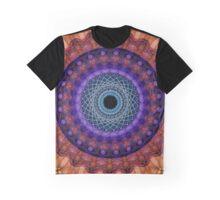 Mandala of coloured smoke Graphic T-Shirt