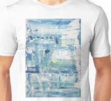 Glacier - Original Wall Modern Abstract Art Painting Unisex T-Shirt
