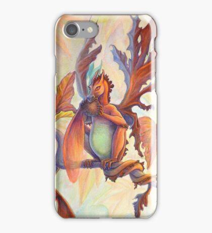 Maple Leaf Fairy Dragon iPhone Case/Skin