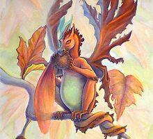 Maple Leaf Fairy Dragon by katemccredie