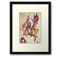 Maple Leaf Fairy Dragon Framed Print