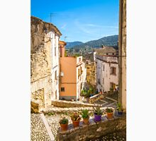 The winding streets of Bocairent Unisex T-Shirt