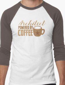 Architect powered by coffee Men's Baseball ¾ T-Shirt