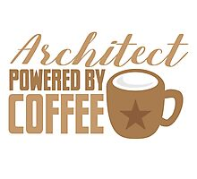 Architect powered by coffee Photographic Print