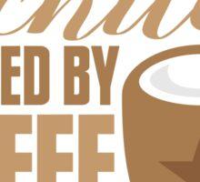 Architect powered by coffee Sticker