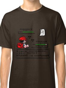 Homework Pokemon Battle Classic T-Shirt