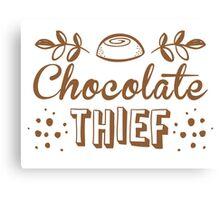 Chocolate thief Canvas Print