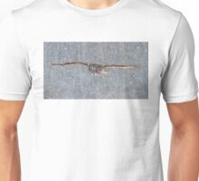 Snowfall - Great Grey Owl Unisex T-Shirt