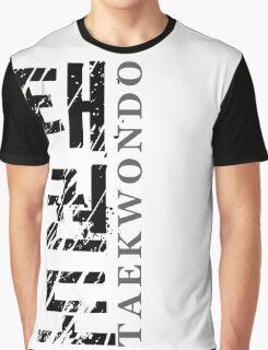 Taekwondo Strip - Korean Martial Art Graphic T-Shirt