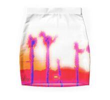 .Orange Crescent Mini Skirt