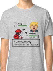 Donald Trump Pokemon Battle Classic T-Shirt