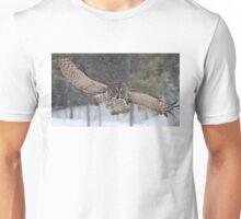 Duck! - Great Grey Owl Unisex T-Shirt