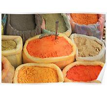 Spice Market Poster