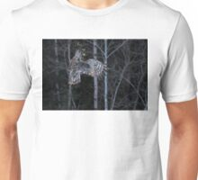 Hover - Great Grey Owl Unisex T-Shirt