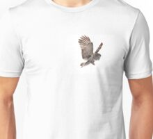 Incoming - Great Grey Owl Unisex T-Shirt
