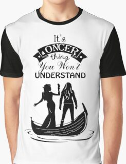 Swan Queen. Oncer Thing! Graphic T-Shirt