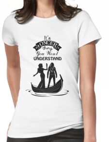 Swan Queen. Oncer Thing! Womens Fitted T-Shirt
