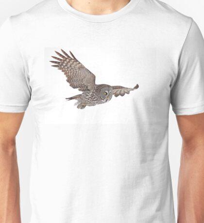 In Flight - Great Grey Owl T-Shirt