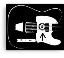 Ed's Custom Guitar! Canvas Print