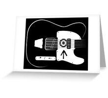 Ed's Custom Guitar! Greeting Card