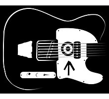 Ed's Custom Guitar! Photographic Print