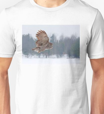 Flyby - Great Grey Owl T-Shirt