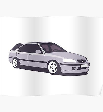 Honda Civic Aerodeck Poster