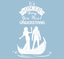 Swan Queen (b/w). Oncer Thing! Baby Tee