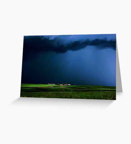 Wild, wild weather Greeting Card