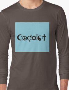 Coexist Long Sleeve T-Shirt