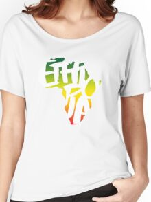 Ethiopia in Africa - White Women's Relaxed Fit T-Shirt