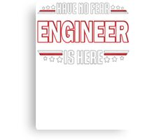 Engineer Canvas Print