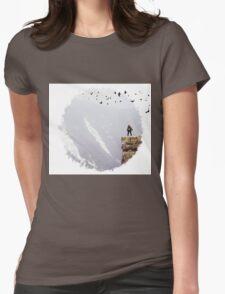 Birds Womens Fitted T-Shirt