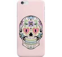 Single sugar skull 2 iPhone Case/Skin