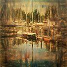 Port Hudson Morning by Steve Walser