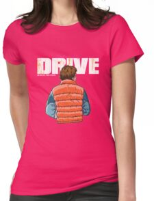 Back to the Future - Drive Womens Fitted T-Shirt